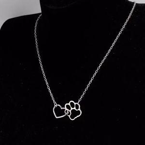 Fashion Dog Paw Necklace !!!